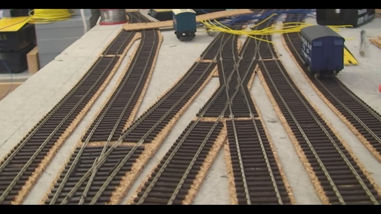 a model railway from scratch 07 track laying youtube methods of wiring a model railroad [ 1280 x 720 Pixel ]