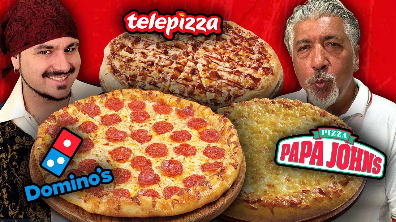 PIZZAS en casa estilo DOMINO´S PIZZA, TELEPIZZA Y PAPA JONES con PINO PRESTANIZZI 🍕