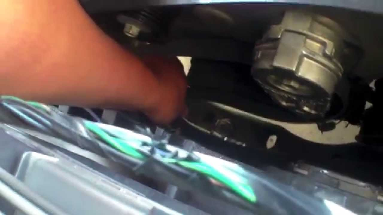 How to replace drive belt tensioner dodge magnum