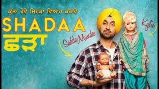 Diljit Dosanjh Marriage | Part 01 | Latest Punjabi Comedy Movie 2019 | Shadaa Movie(2019)