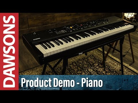 Yamaha CP88 & CP73 Digital Stage Pianos Overview