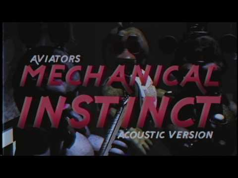 Aviators - Mechanical Instinct (Dark Acoustic Version | FNAF Song)