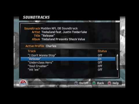 Timbaland feat. Justin Timberlake - Release (Madden NFL 08 Edition)