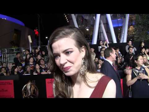 EXCLUSIVE: Elena Sanchez Cecelia talks THE HUNGER GAMES: CATCHING FIRE at Los Angeles premiere