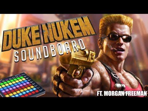 Duke Nukem Soundboard in Overwatch Competitive! (Overwatch Trolling)