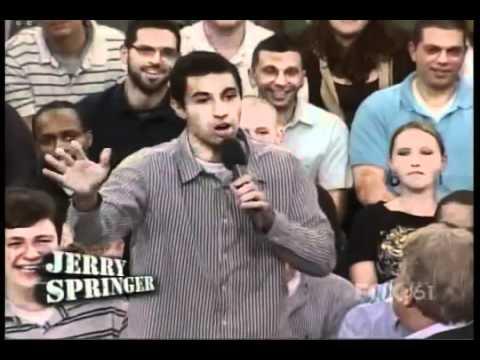 Jerry Springer - Beatcha' like a woman, Beacha' like a man!