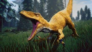 BEWARE.. The Golden Back Raptors Are Here!! - The Isle HARDCORE Mode - Gameplay