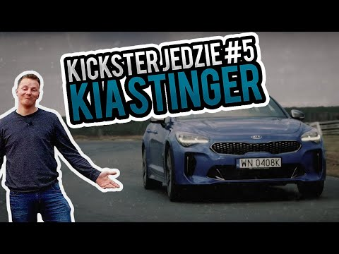 Kia Stinger - Kickster jedzie #14