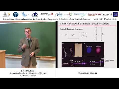 1/44 Foundation of nonlinear optics I