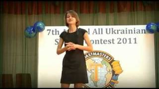 Английский в Киеве: Tanya Nechaeva: It's All about Food. Toastmasters Contest, April 16th 2011(Английский в Киеве: Tanya Nechaeva: It's All about Food. Speech at All-Ukrainian Toastmasters Contest, April 16th 2011. LINK = http://youtu.be/jc-AE6xs_oY ..., 2011-04-25T13:01:38.000Z)