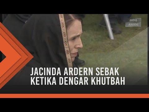 #NewZealandBerkabung: Jacinda Ardern sebak ketika dengar khutbah