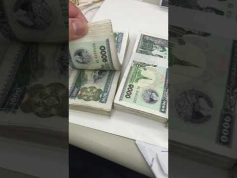 Lao money,(kip)
