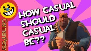 TF2 Friendlies & Trolldiers How CASUAL Should Casual Be