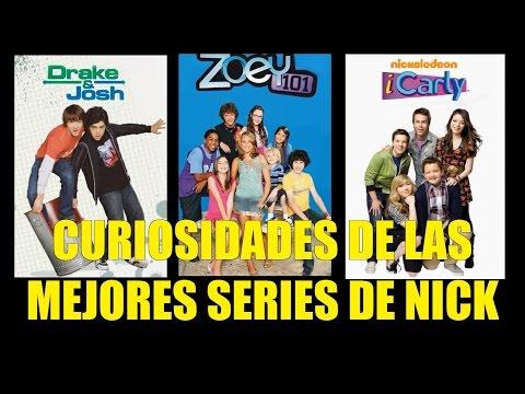 Curiosidades de las Mejores Series de Nick Drake y Josh, Zoey 101 y ICarly