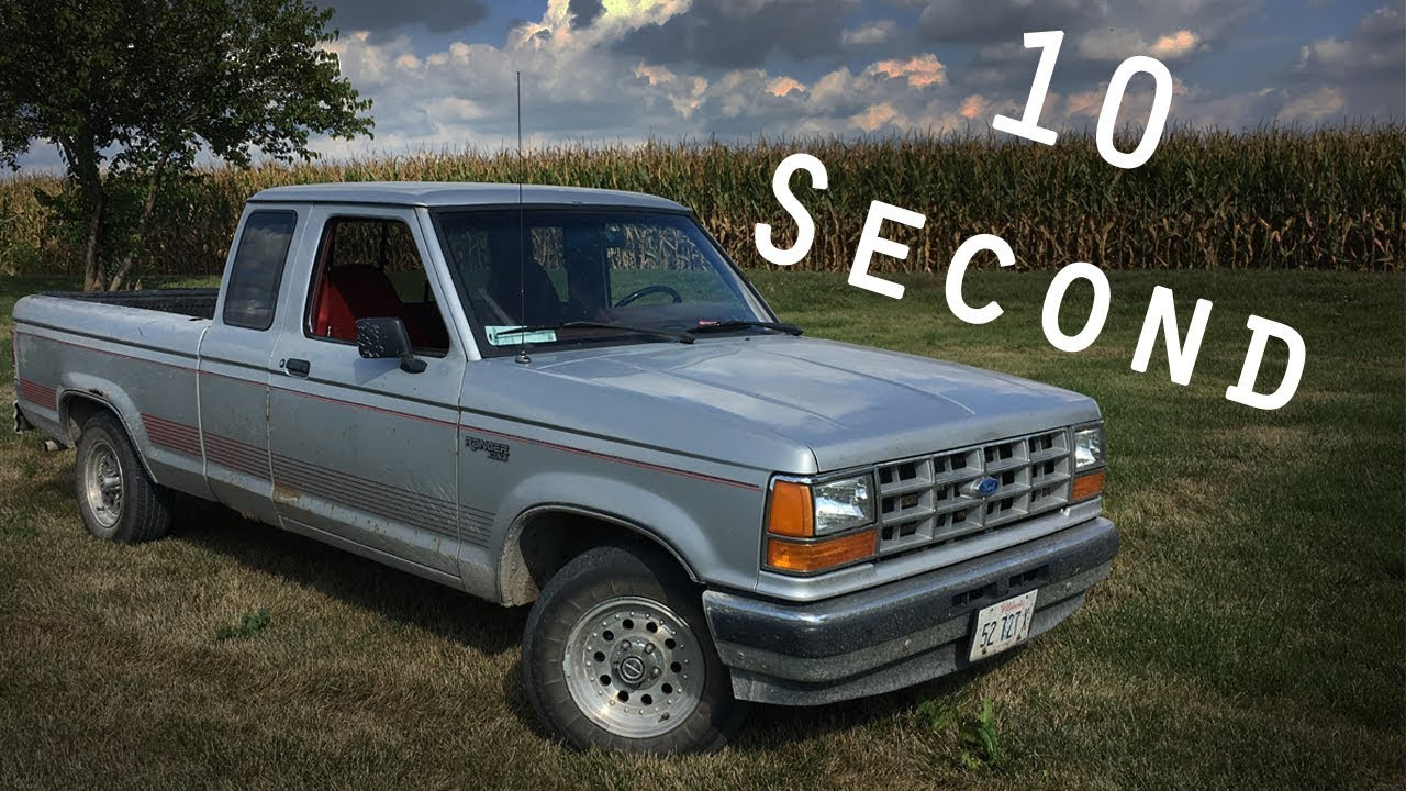 1991 ford ranger 10 second review youtube. Black Bedroom Furniture Sets. Home Design Ideas