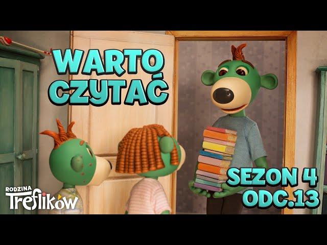 Bajki dla dzieci - RODZINA TREFLIKÓW - Sezon 4 - odc. 13 -
