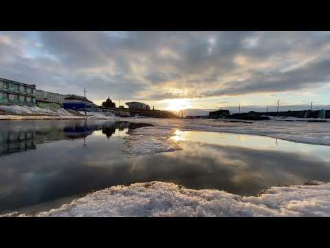 2020.05.18, 20:21 Река Казачка в городе Анадыре. Чукотка Дальний Восток Арктика