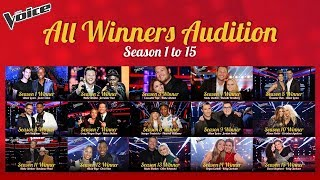 All The Voice Winners Season 1-15