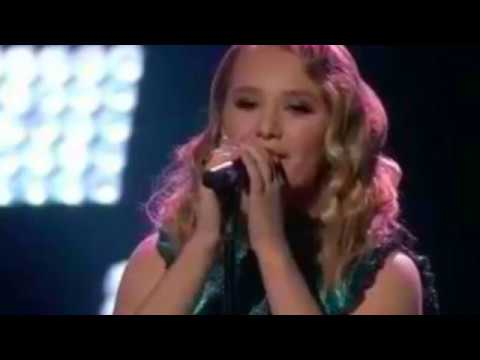 "Addison Agen sings ""Humble and Kind"" on The Voice 2017 Top 4 Finale"