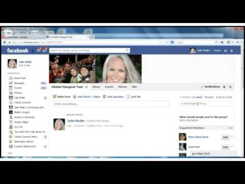 How to Create a Global Hangout Facebook Group