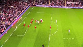 Liverpool V Hearts David Templeton 1-0 Goal thumbnail