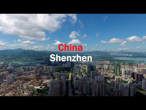 [4K] Shenzhen | 12 Hour Stopover (With DJI Phantom 4 and Phantom 4 PRO)