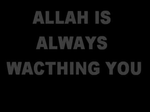 Allah Maha Melihat - opick feat amanda(lirik)