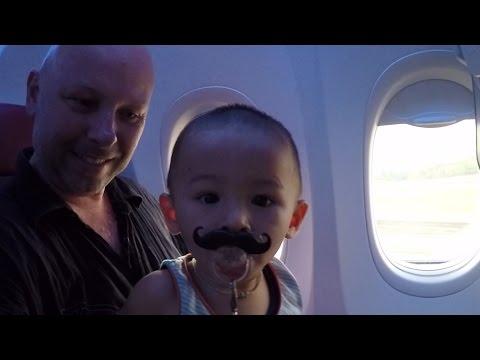 Leaving Home: Thailand to Australia Travel Vlog 1. Visas, Planes & Beaches