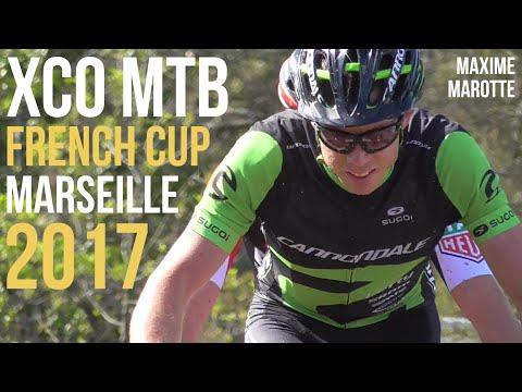 Coupe de France VTT XCO 2017 Marseille Hommes Compétition XC Cross Country MTB Cycling Race Video