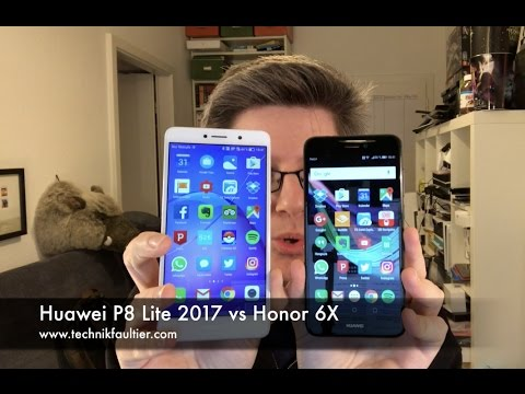Huawei P8 Lite 2017 vs Honor 6X