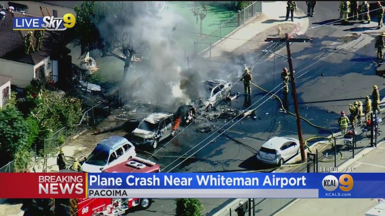Plane Crash in Pacoima Kills Pilot