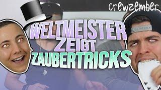 WELTMEISTER ZEIGT ZAUBERTRICKS | Crewzember