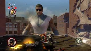Marvel Ultimate Alliance 2 Playthrough HD Pro - Reg Pt. 16 Goliath Boss Fight