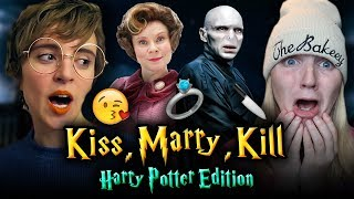 One of TheBakeey's most viewed videos: KISS, MARRY, KILL - Harry Potter Edition ft. Tessa Netting
