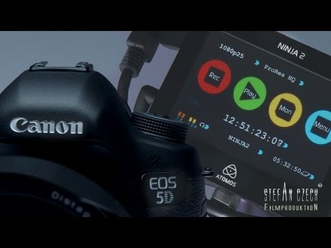 Canon 5D Mark III & Atomos Ninja 2 ...finally - The Way of External Recording