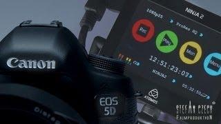 Canon 5D Mark III & Atomos Ninja 2 ...finally - The Way of External Recording