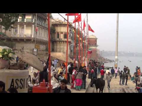 Varanasi by the ghats
