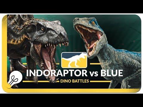 Indoraptor vs Blue - Dino Battles