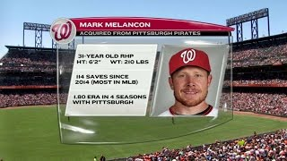 WSH@SF: Nationals broadcast discusses Melancon trade