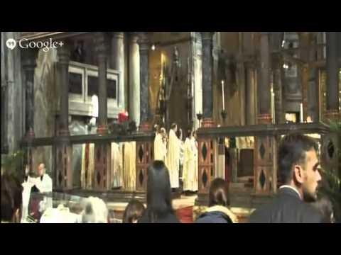 Celebrazione in onore di San Giovanni Bosco - Basilica San Marco