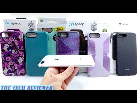 Eight Great Cases For Silver IPhone 8 Plus!