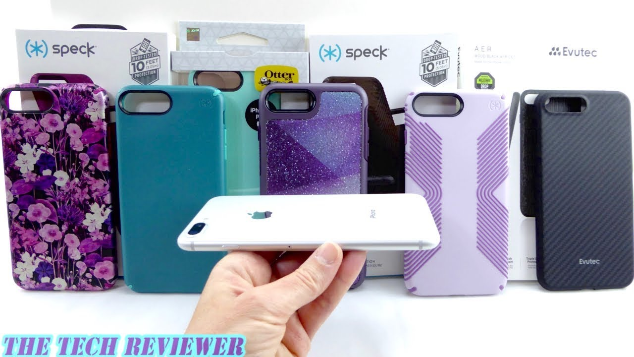 eight great cases for silver iphone 8 plus! youtubeeight great cases for silver iphone 8 plus!