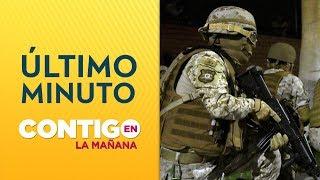 Vecinos de Recoleta denuncian disparos de militares - Contigo en La Mañana