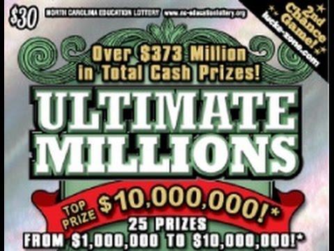 $30 North Carolina scratch ticket *WINNER*