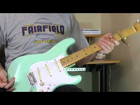 Johnny Guitar Watson Guitar Lesson - Solo for