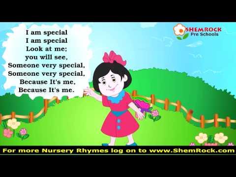 Nursery Rhymes I am Special Songs with lyrics