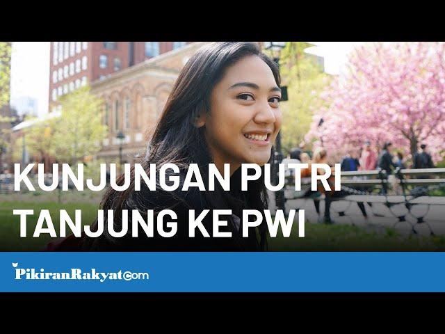 Kunjungan Staf Khusus Presiden, Putri Tanjung ke Kantor PWI