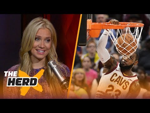 LeBron James with 7 turnovers in preseason debut - Kristine and Colin react | THE HERD