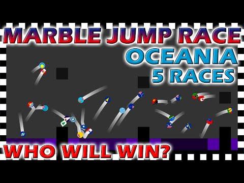 Marble Jump Race Oceania - World Tournament Season 1 - Algodoo