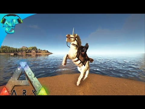 S4E45 The New Fastest Flyer on the ARK and Magical Unicorns! ARK: Survival Evolved PVP Season